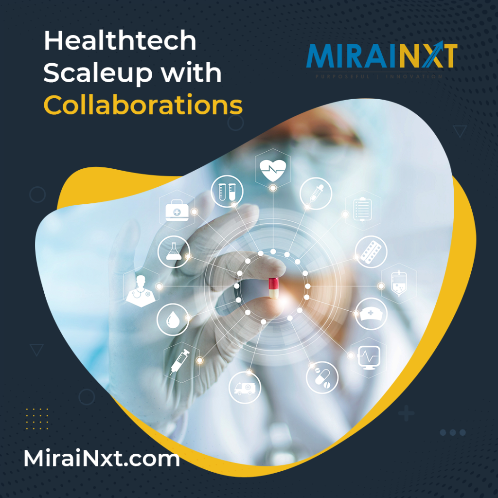 Healthtech Scaleup with Collaborations edtech education